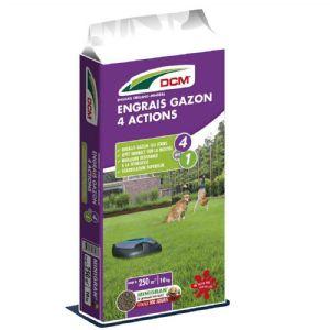 Engrais Gazon 4 actions