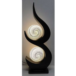 Lampe moderne double
