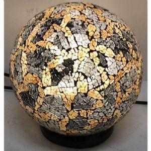 Lampe boule gold