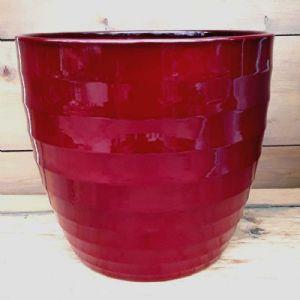 Cache Pot Rouge